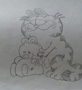 Fra min Garfield-periode.