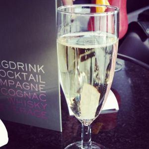 Champagne av typen Piper. Kjempegod.