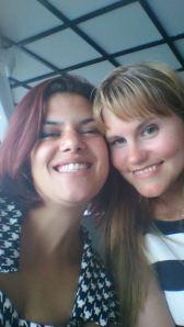 Henia og meg.