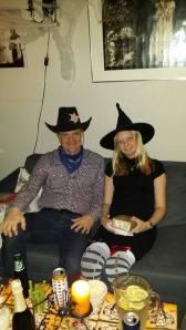 Cowboy og heks.
