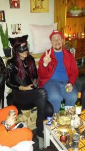 Catwoman og Mario.