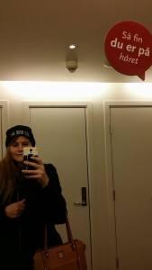 Det høflige speilet på CC -Gjøvik skuffer heller ikke denne gangen.