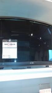 Fine tv-benken.