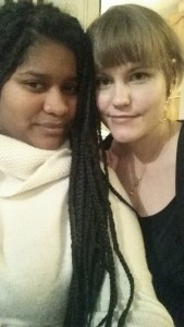 Liliana og meg.