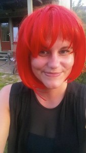 Fikk plutselig rødt hår.