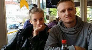 Elise og kjæresten.
