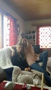 Det er en viss likhet mellom Jane og datteren, Elise :)